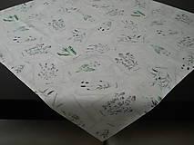 Úžitkový textil - Obrus - Rastlinky - 10634400_