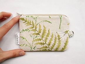 Peňaženky - Peňaženka/dokladovka - Pápraď - 10634628_
