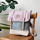 Batohy - Aktovkový batoh Olivia (pastels) - 10633348_