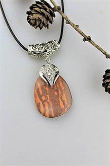 Náhrdelníky - jaspis prívesok (kameň Austrália) AKCIA! - 10635482_
