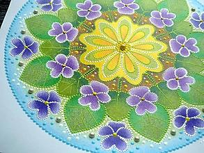 Obrazy - Mandala - FIALKY - 10635044_