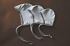 Detské čiapky - Čapička pre bábätko AIR (bio-bavlna) - 10634657_