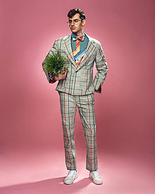 Oblečenie - Oblek Gustav - 10633151_