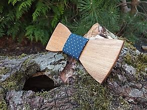 Doplnky - Pánsky drevený motýlik - 10635000_