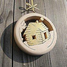 Dekorácie - Drevený Domček - 10633742_