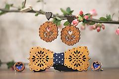Sady šperkov - Motýlik Medový kvet - 10633053_