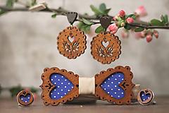 Sady šperkov - Motýlik modrý medovník - 10633096_