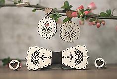 Sady šperkov - Motýlik Tulipán - 10633120_