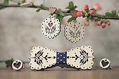 Sady šperkov - Motýlik Tulipán - 10633125_