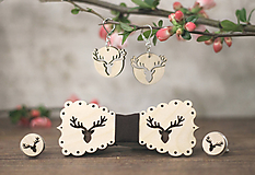 Sady šperkov - Motýlik Jelenec - 10633127_