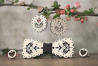 Sady šperkov - Motýlik Tulipán - 10633118_
