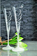 Nádoby - Svadobné čaše - 10635689_