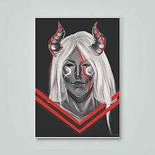 Grafika - Print - Demon - 10635492_