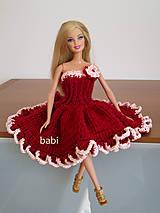 Šaty pre Barbie