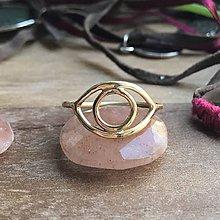 Prstene - Prstýnek OKO z 9 karátového zlata - 10632511_