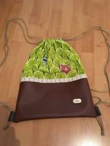 Batohy - Lesný vak- zelená - 10634234_