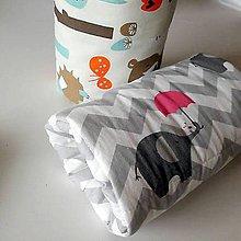 Textil - vankúšik pre kojencov - 10634342_
