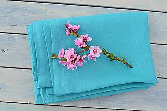 Úžitkový textil - Ľanový obrus - 10632537_