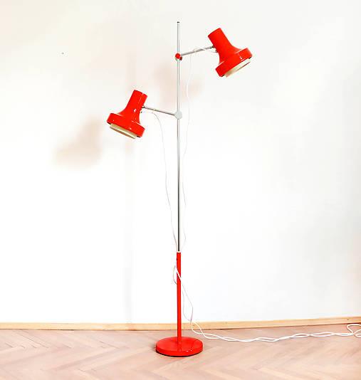 Stojací podlahová lampa - Josef Hůrka