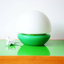 Svietidlá a sviečky - Stolní lampa - Vajíčko - 10633206_