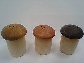 Dekorácie - drevená soľnička - 10633867_