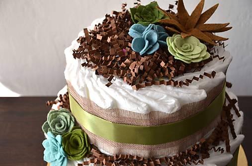 Plienková torta Sukulent