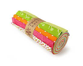 Textil - Bavlnené látky - rolka Spring Time - 10633084_