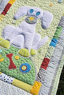 Úžitkový textil - Prehoz so psíkom - 10635772_