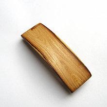 Ozdoby do vlasov - Drevená spona do vlasov - brestová stredná - 10632704_