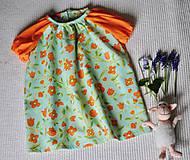 Detské oblečenie - Šatičky s kvetinkami - 10634961_