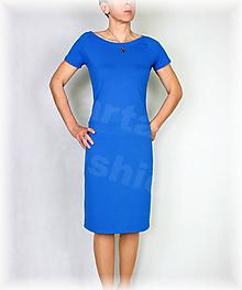 Šaty - Šaty volnočasové vz.430 (nové barvy) (Biela) - 10637229_