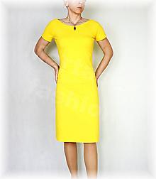 Šaty - Šaty volnočasové vz.431 (nové barvy) (Biela) - 10637237_