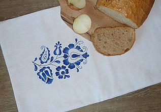 Úžitkový textil - Ramia chlebník Lupienkový tulipán - 10637358_