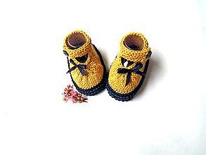 Topánočky - Bavlnené sandálky - 10637801_
