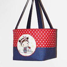 Detské tašky - Košík / taška na zaťahovanie - Na piknik, či Na ihrisko - 10636057_