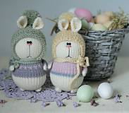 Hračky -  Veľkonočné zajačiky - 10636392_
