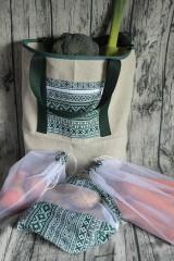 Nákupné tašky - Ekologická nákupná súprava - 10638015_