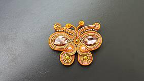 Odznaky/Brošne - Motylek - 10637061_