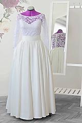 Svadobná sukňa
