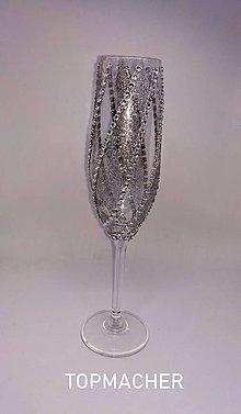 Nádoby - Svadobné poháre - 10638546_