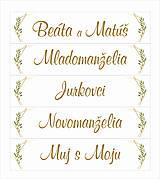 Tabuľky - Svadobná tabuľka na auto - špz 36 - 10638388_