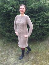 Šaty - Pletené šaty - 10636723_