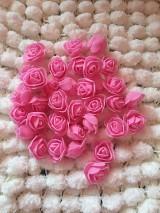 Iný materiál - 3D ružičky - 10636338_