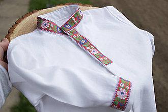 Detské oblečenie - Folklórna detská košeľa - 10638530_