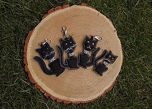 Kľúčenky - Kľúčenka mačka - 10638559_