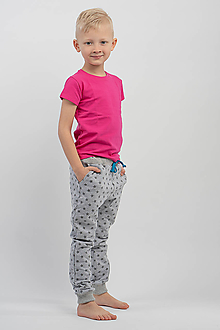 Detské oblečenie - Detské tričko Pink KR - 10636974_