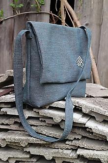 Veľké tašky - sivo-modrá unisex - 10636560_