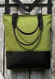 "Batohy - ""backpack 3in1- spring green"" - Batoh & taška cez rameno - 10636247_"