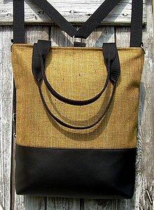 "Batohy - ""backpack 3in1- okker brown"" - Batoh & taška cez rameno - 10636348_"