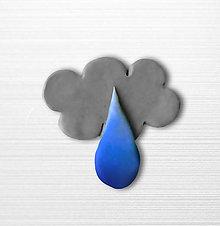 Magnetky - Bude pršať - magnetka - 10636081_